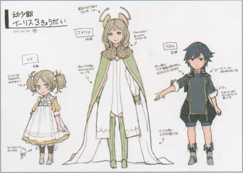 Official Ages For the Ylissean Royal Family - Fire Emblem