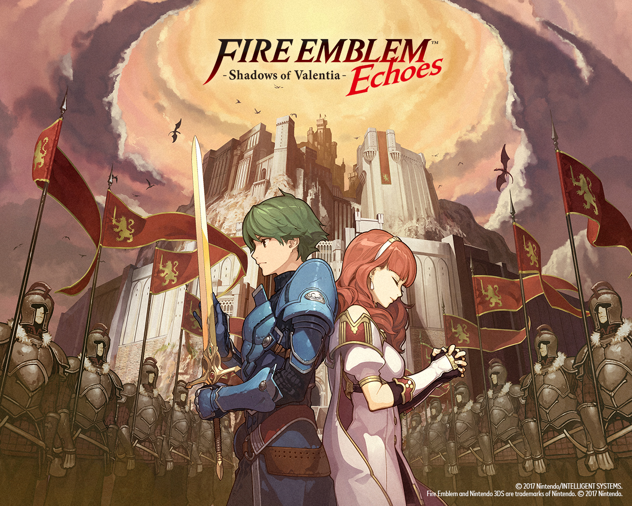 Sov Nintendo Wallpapers Fire Emblem Echoes Shadows Of Valentia