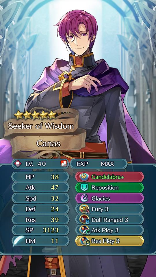 Canas - Seeker of Knowledge - Heroes Analysis - Serenes